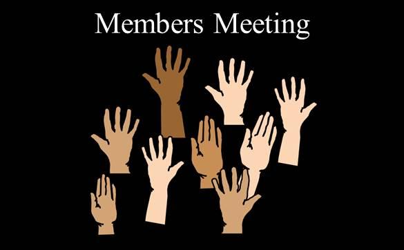 Sunday 29 May - Budget Meeting