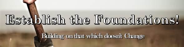 Establish The Foundations