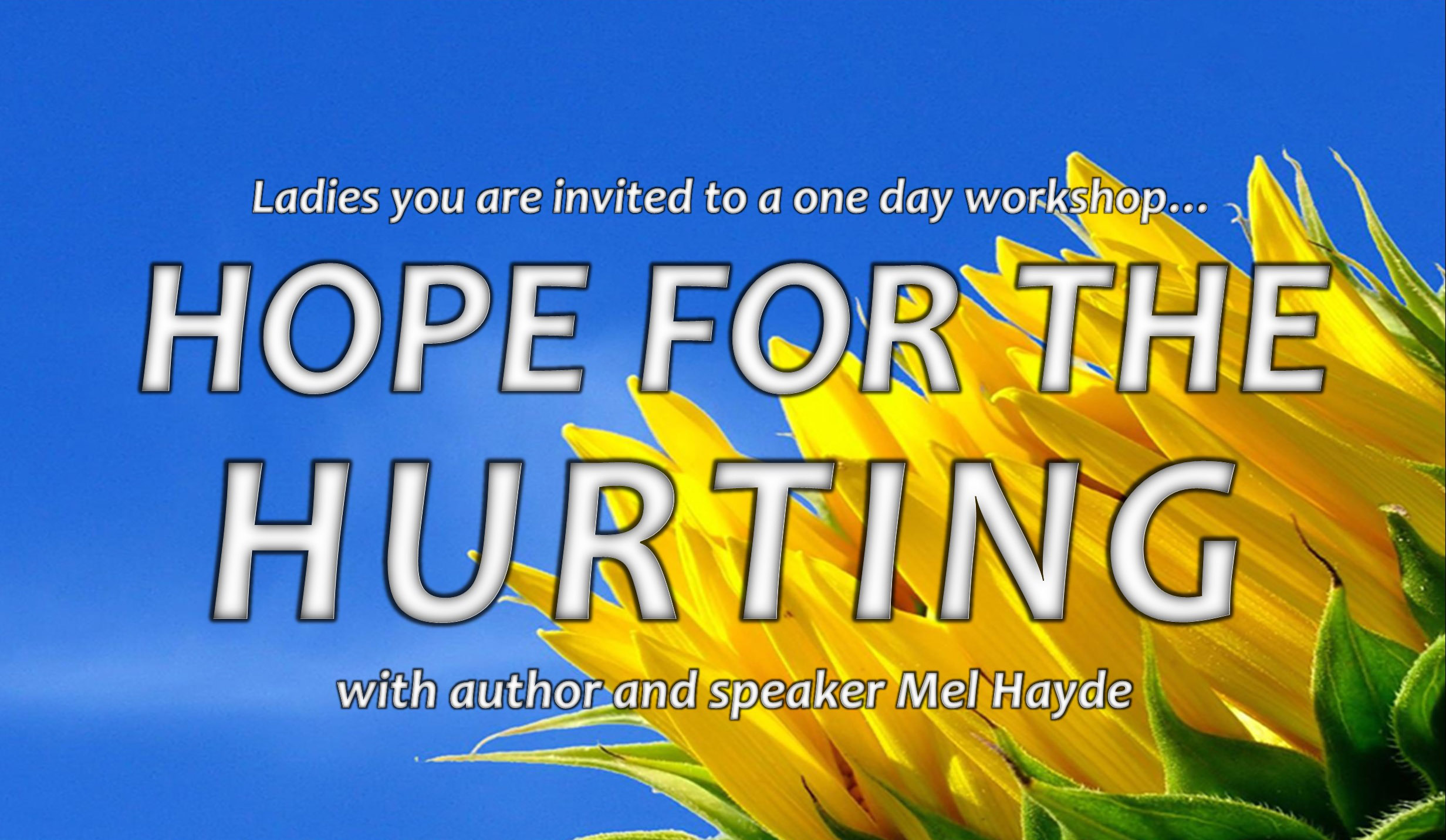 Hope for the Hurting Ladies Event